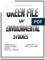Green File (Env. Studies)