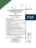 Matura 2006 - matematyka - poziom podstawowy - odpowiedzi do arkusza maturalnego (www.studiowac.pl)