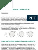 ¿Cómo Funciona Un Reductor o Motorreductor_ - Potencia Electromecanica