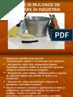 Metode Si Mijloace de Igienizare În Industria Alimentară