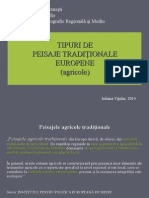 Agricultura Peisaje Traditionale Planificare Spatiala Europa
