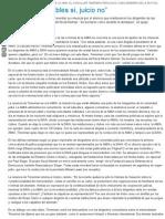 """Página_12 __ El País __ """"Ellos Dicen Culpables Sí, Juicio No"""""""