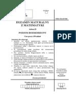 Matura 2006 - matematyka - poziom rozszerzony - odpowiedzi do arkusza maturalnego (www.studiowac.pl)