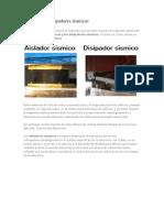 Aisladores y Disipadores Sísmicos