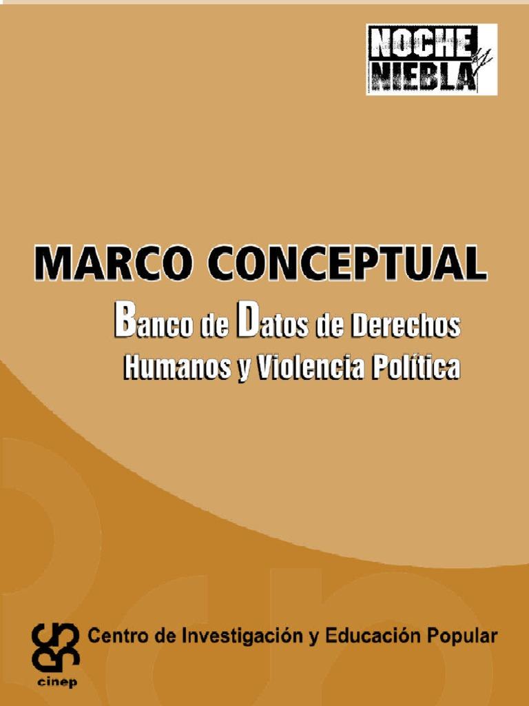 Marco Conceptual Cinep