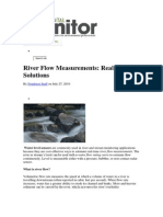 Other Technology for Flow Measurement