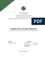 Logistica como actividad empresarial