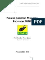 Plan de Gobierno Puno