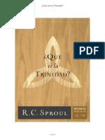¿Que Es La Trinidad - R.C. Sproul