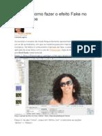 Aprenda Como Fazer o Efeito Fake No Photoscape