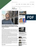 Homem Negro e Espancado Pela PM, Suspeito de Roubar o Proprio Carro Em SP