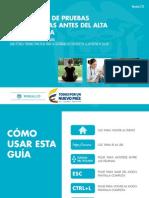 Evaluar Pruebas Diagnosticas Para Alta Hospitalaria