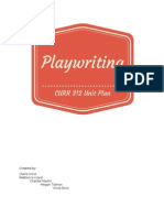 playwriting unit plan