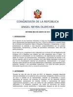 Informe de representación ENERO