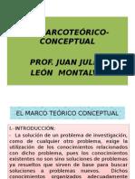 Diapositivas Marco Teórico Conceptual, Juan Julio