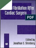 Atrial Fibrillation After Cardiac Surgery - J. Steinberg (Kluwer, 2000) WW