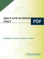 Daily Life in Renaissance Italy (History eBook)