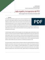 El Proletariado Español y La Trayectoria Del PCE