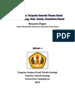 Resume Paper Geotermal