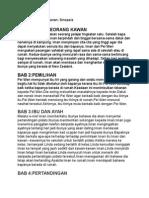 Bahasa Melayu PT3 novel