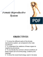 Gross Anatomy of the Female Reproductive System