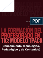 La formación del profesorado en TICs