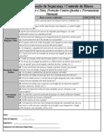 Check-list Inspeção Atualizado 2005