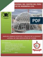 Informe Antisismica calculo de rigidez lateral
