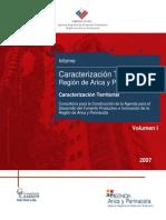 Caracterizacion Economica Region de Arica y Parinacota