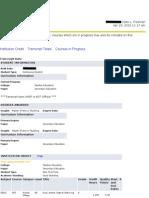 academic transcipt snc online