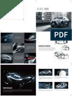 Lexus Serie NX_Ficha Técnica.pdf