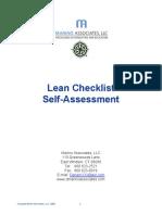 Lean Checklist