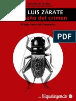 José Luis Zarate - El tamano del crimen