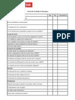 Checklist Monografia