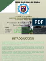 Imnovaciones Tecnologicas Aplicada a La Mineria - Escaner Laser