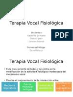 Terapia Vocal Fisiológica Parte 1