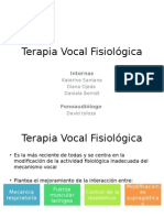Terapia Vocal Fisiológica Parte 1