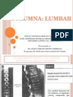 Fisiologia Columna Lumbar UT
