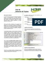 H3P | Sistema de Preparación de Procesos de Personalización de Tarjetas | Realsec