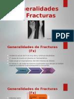 Generalidades de Fracturas