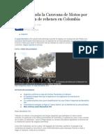 El Papa saluda la Caravana de Motos por la liberación de rehenes en Colombia