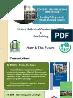 Tim Doherty MMC & Eco Building