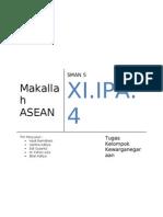 Makallah PKn ASEAN