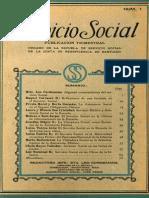 Servicio Social 1928