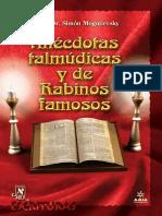 Anécdotas Talmúdicas y de Rabinos Famosos