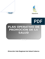 Plan Operativo Promsa 2010 - Copia