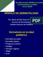 4. Dermatología Pediátrica