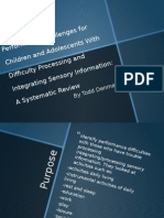 performance challenges for children and adolescents with difficulty