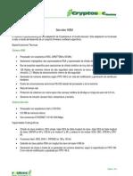 Cryptosec-banking | Informacion Técnica sobre el servidor HSM | Realsec