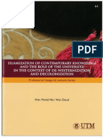 Full Bookislamization of Contemporary Knowledge